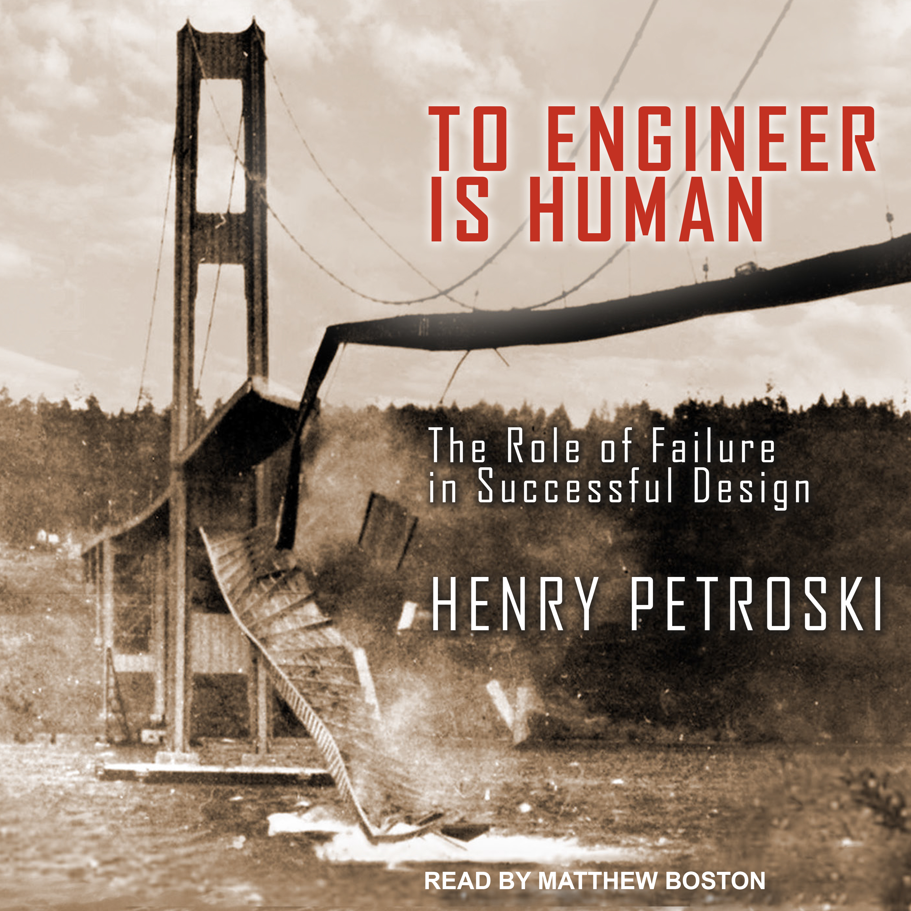 Printable To Engineer Is Human: The Role of Failure in Successful Design Audiobook Cover Art