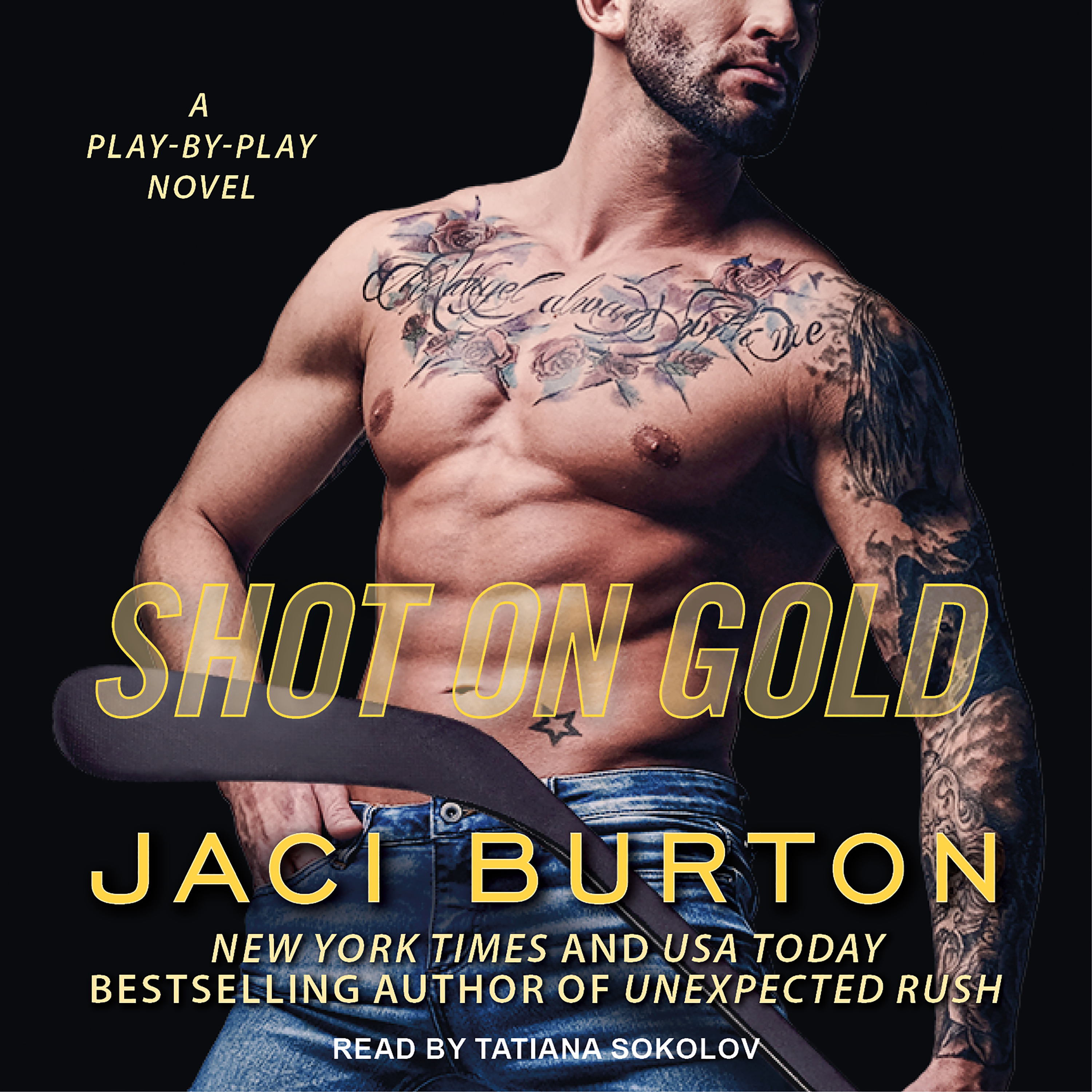 Printable Shot on Gold Audiobook Cover Art