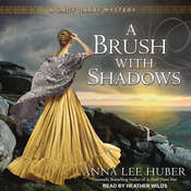 A Brush With Shadows Audiobook, by Anna Lee Huber
