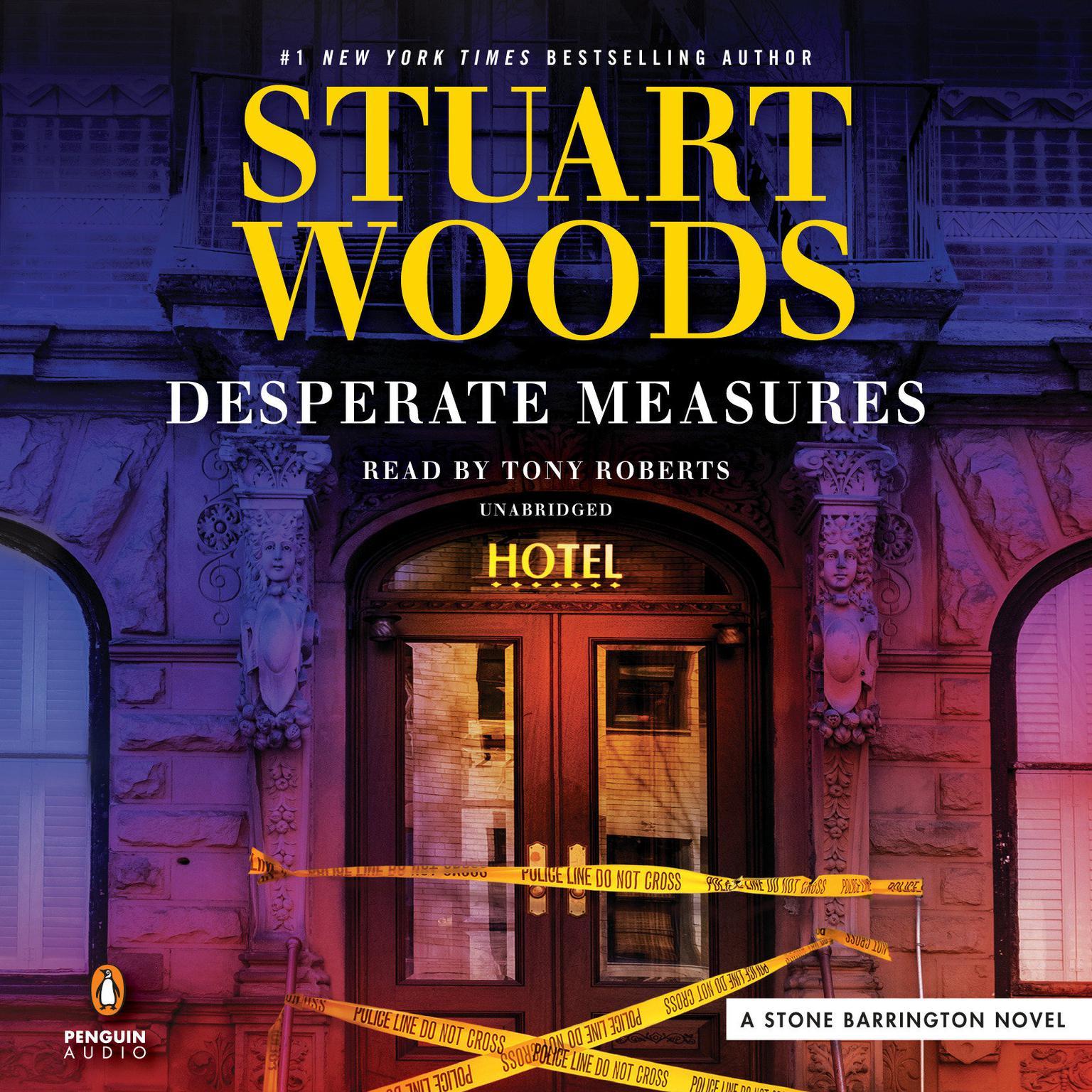 Printable Desperate Measures Audiobook Cover Art