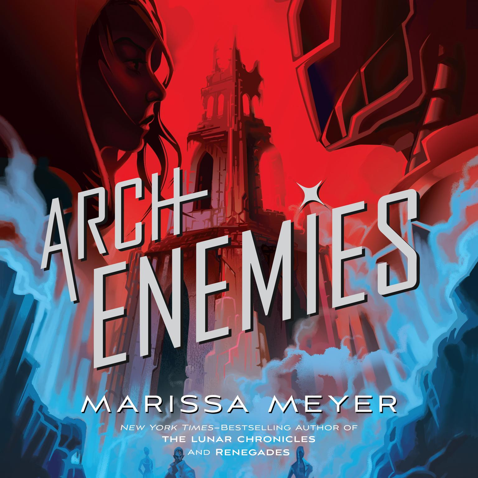 Printable Archenemies Audiobook Cover Art