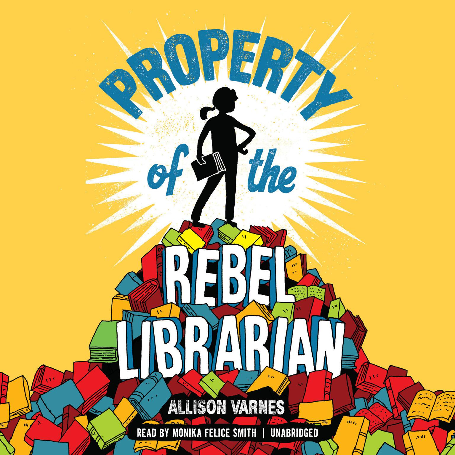 Printable Property of the Rebel Librarian Audiobook Cover Art