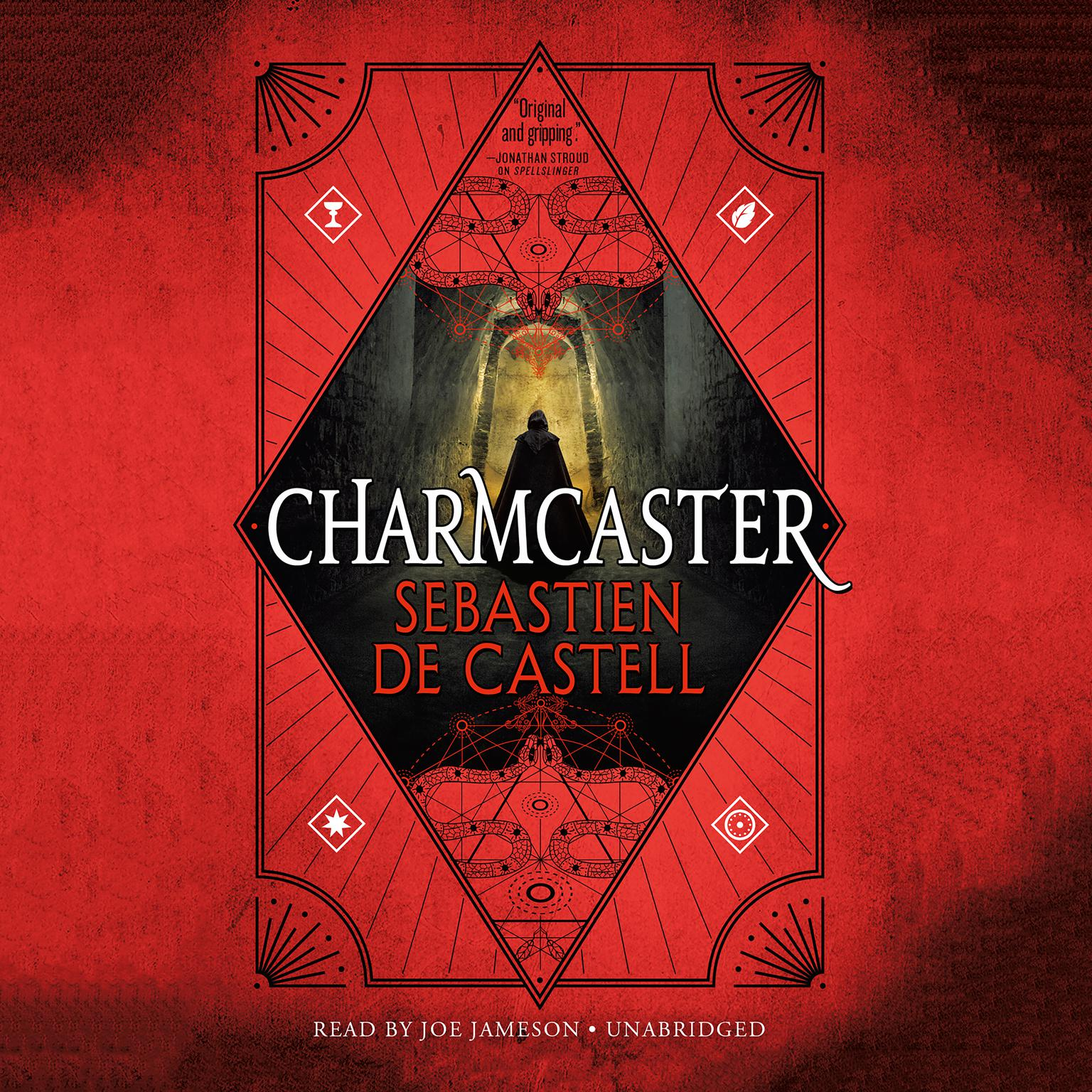 Printable Charmcaster Audiobook Cover Art