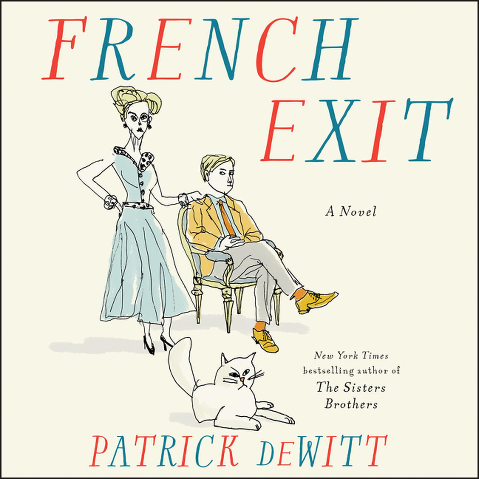 Printable French Exit: A Novel Audiobook Cover Art