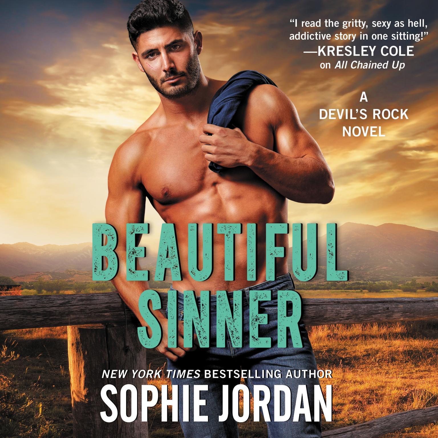 Printable Beautiful Sinner: A Devil's Rock Novel Audiobook Cover Art