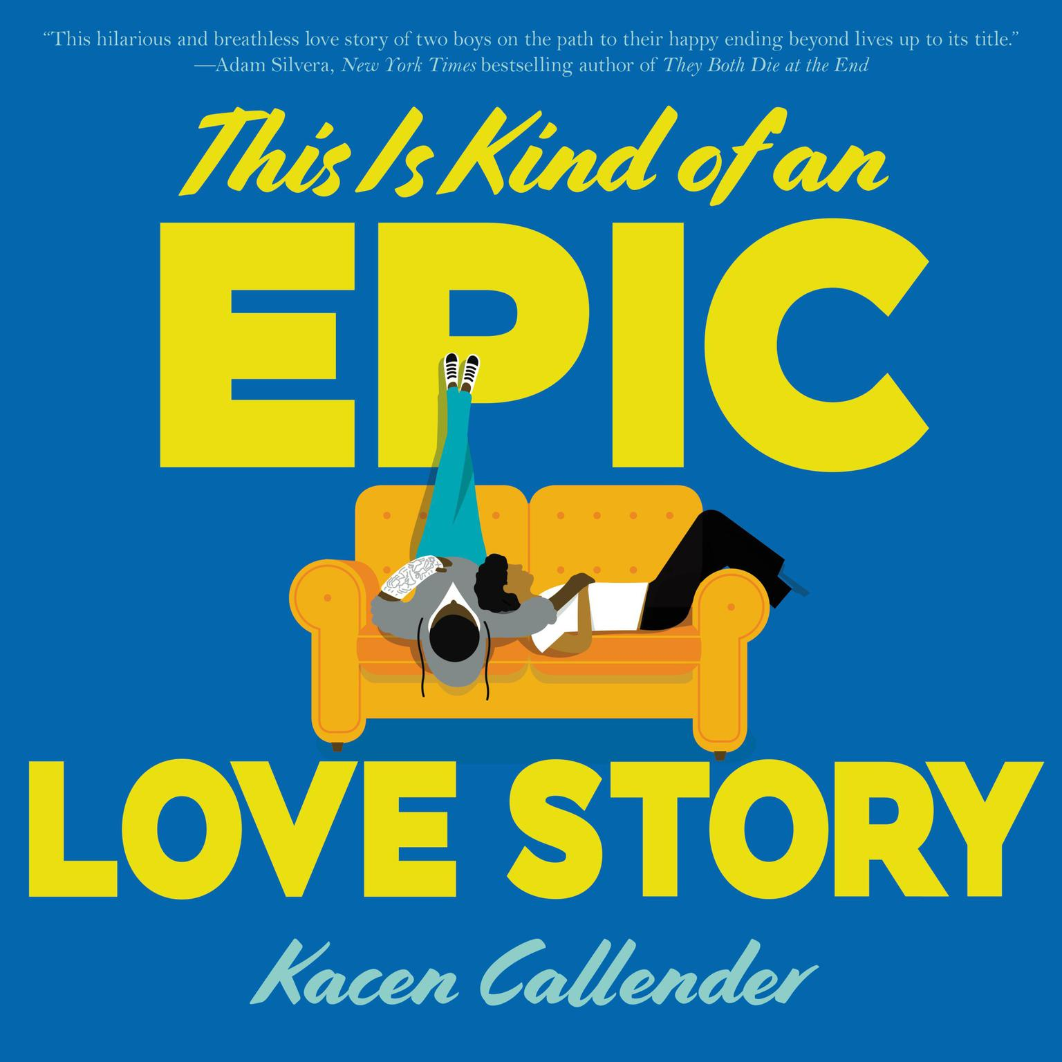 Printable This Is Kind of an Epic Love Story Audiobook Cover Art