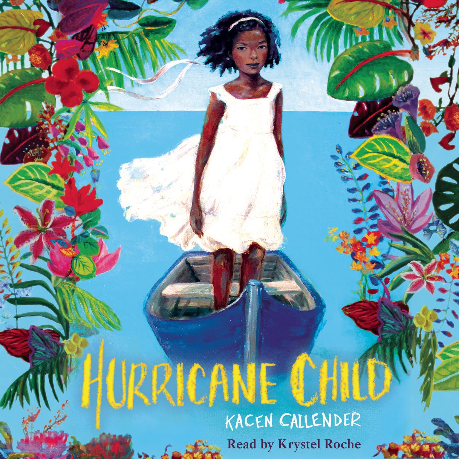 Printable Hurricane Child Audiobook Cover Art