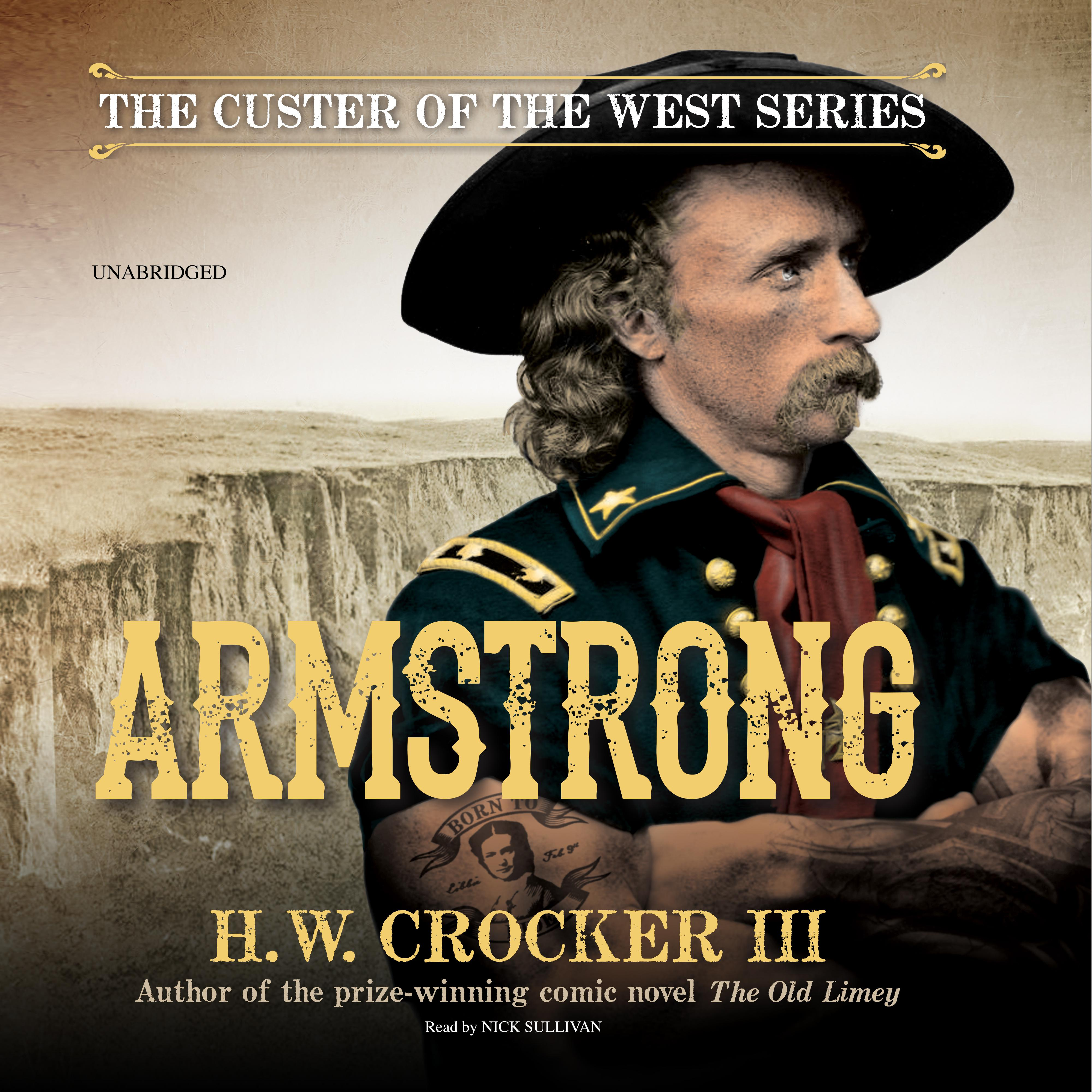 Printable Armstrong Audiobook Cover Art