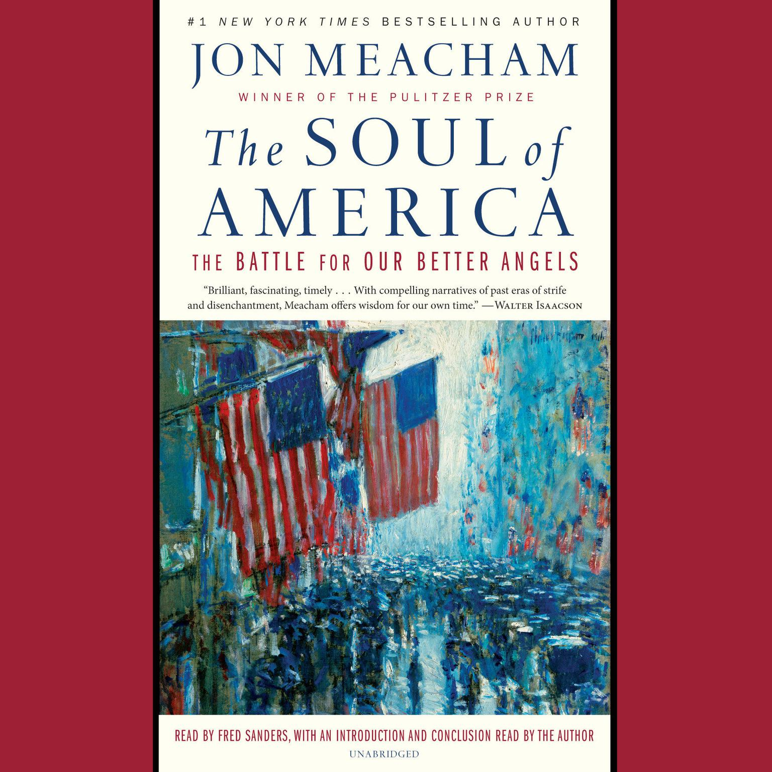 Printable The Soul of America: The Battle for Our Better Angels Audiobook Cover Art