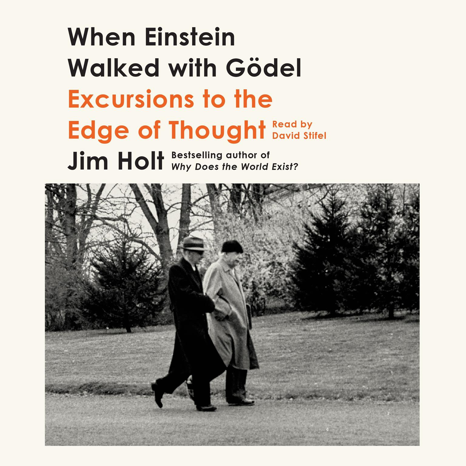 Printable When Einstein Walked with Gödel: Excursions to the Edge of Thought Audiobook Cover Art