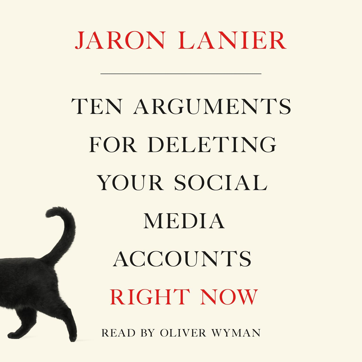 Printable Ten Arguments for Deleting Your Social Media Accounts Right Now Audiobook Cover Art