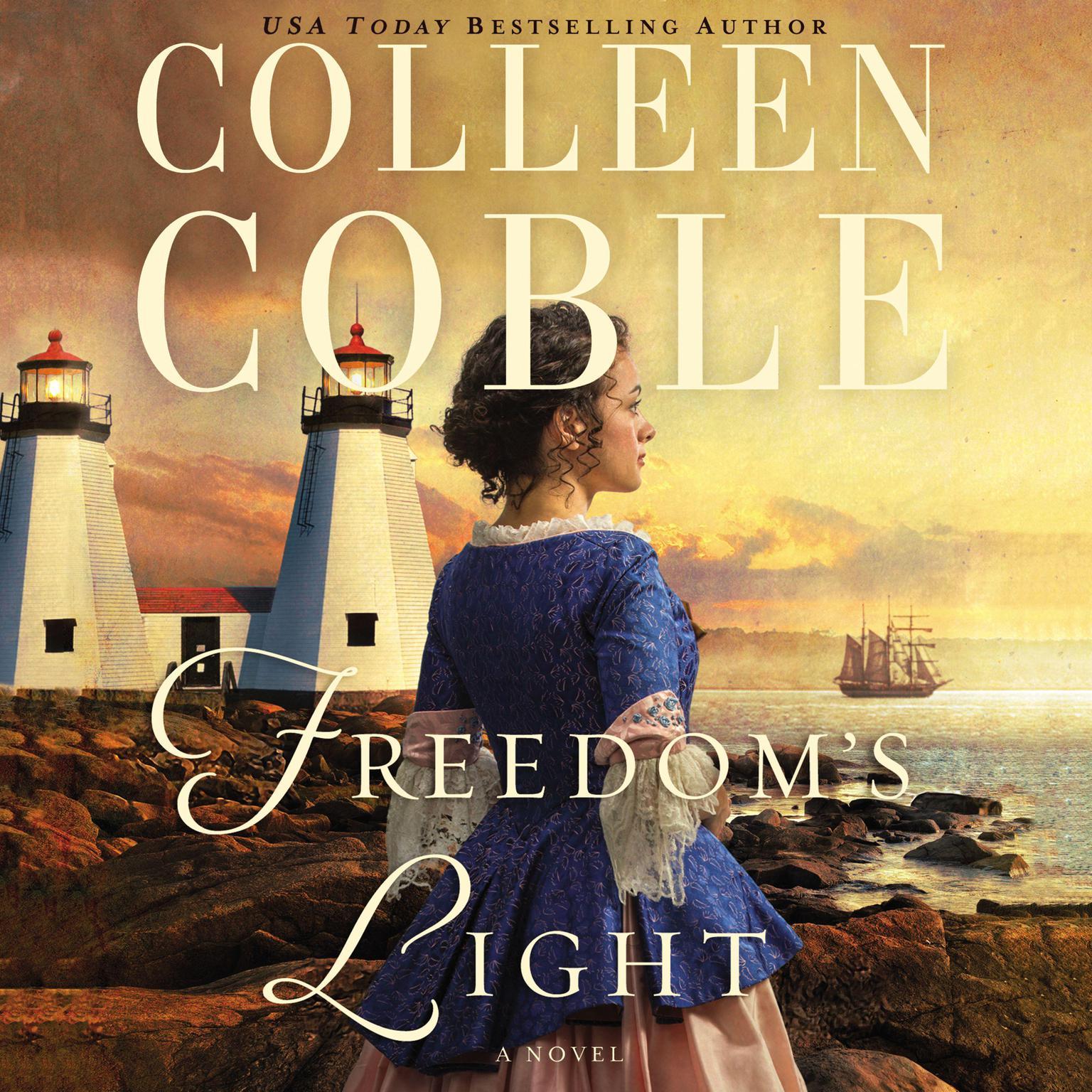 Printable Freedom's Light Audiobook Cover Art