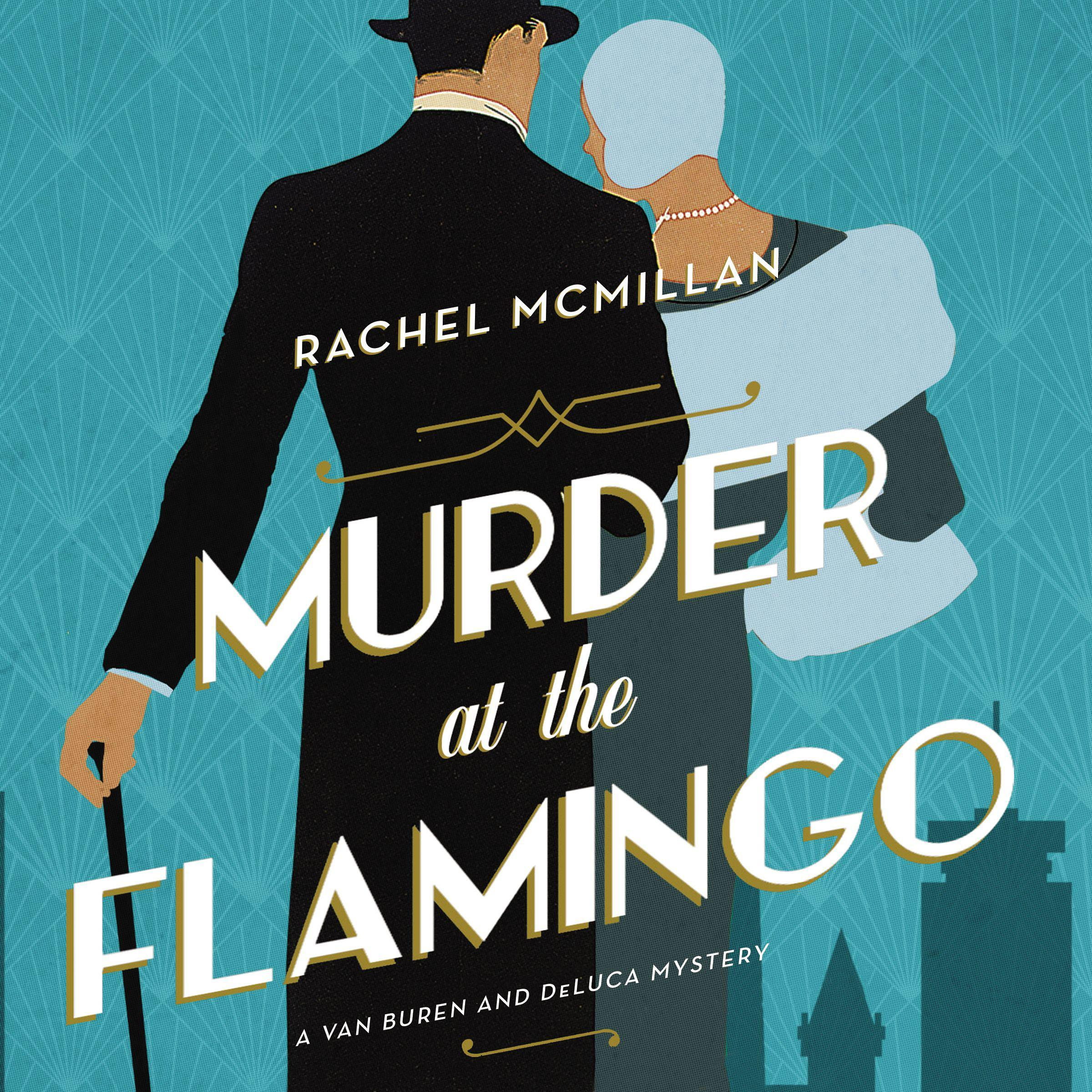 Printable Murder at the Flamingo: A Novel Audiobook Cover Art