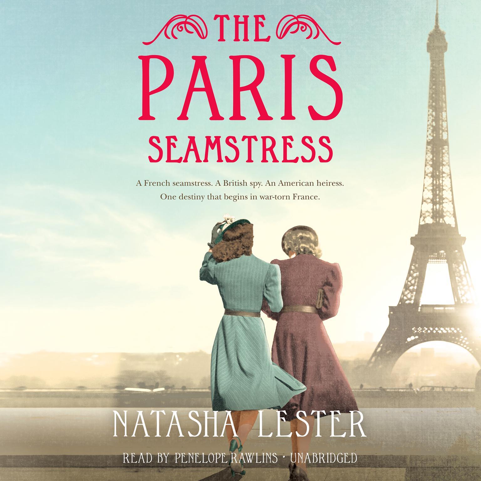 The Paris Seamstress Audiobook, by Natasha Lester