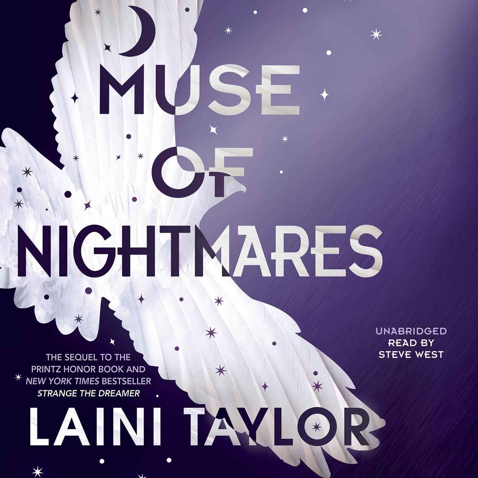 Printable Muse of Nightmares Audiobook Cover Art