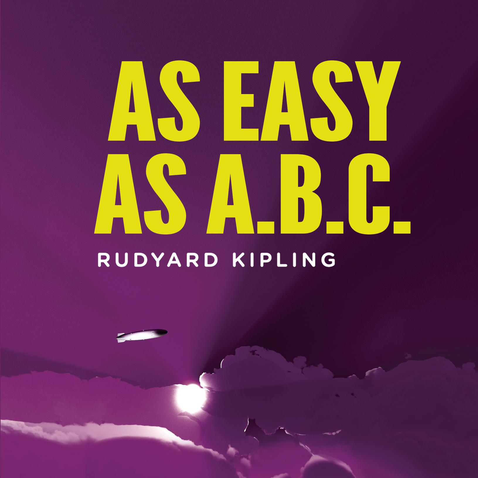 Printable As Easy As ABC: A Yarn About the Aerial Board of Control Audiobook Cover Art