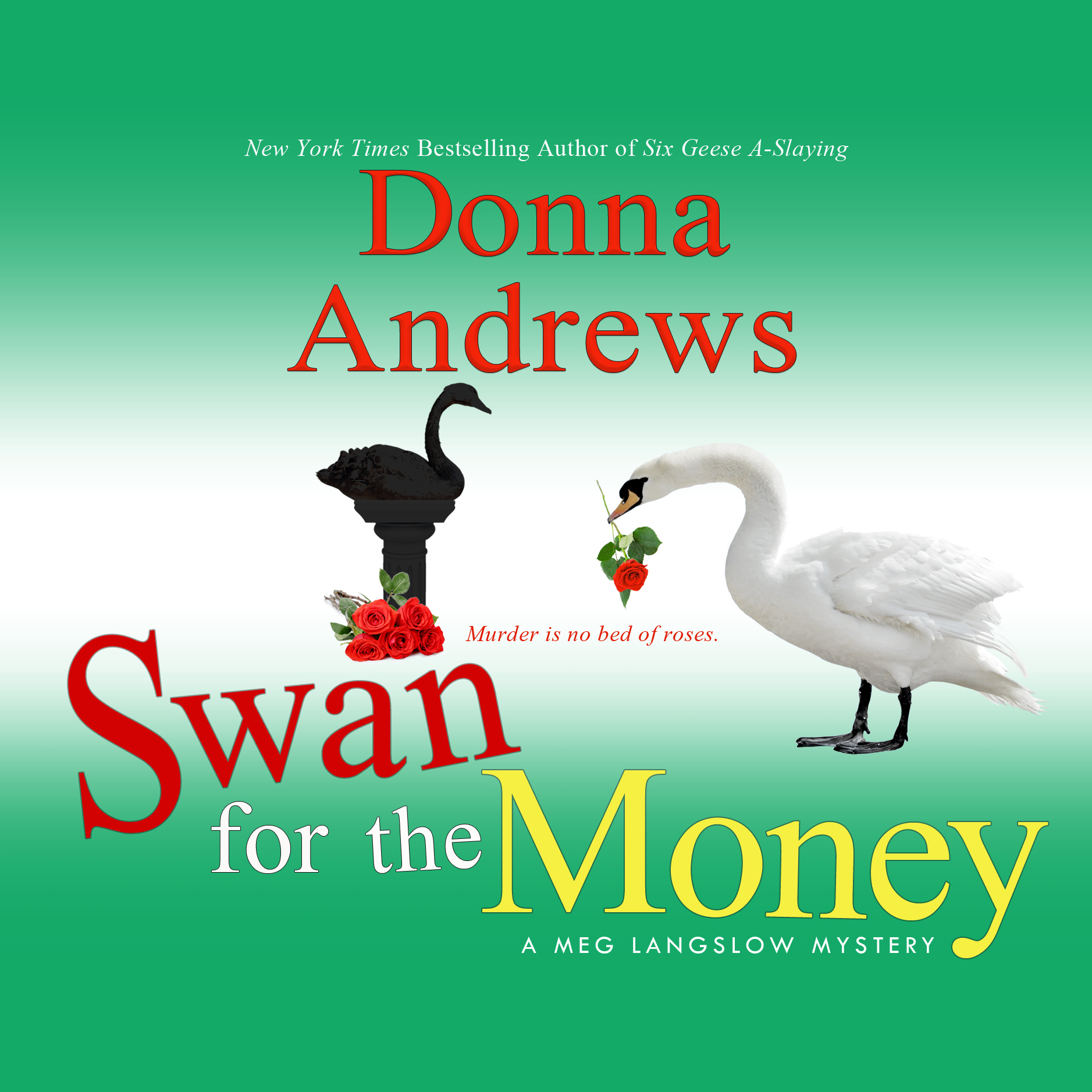 Printable Swan for the Money Audiobook Cover Art