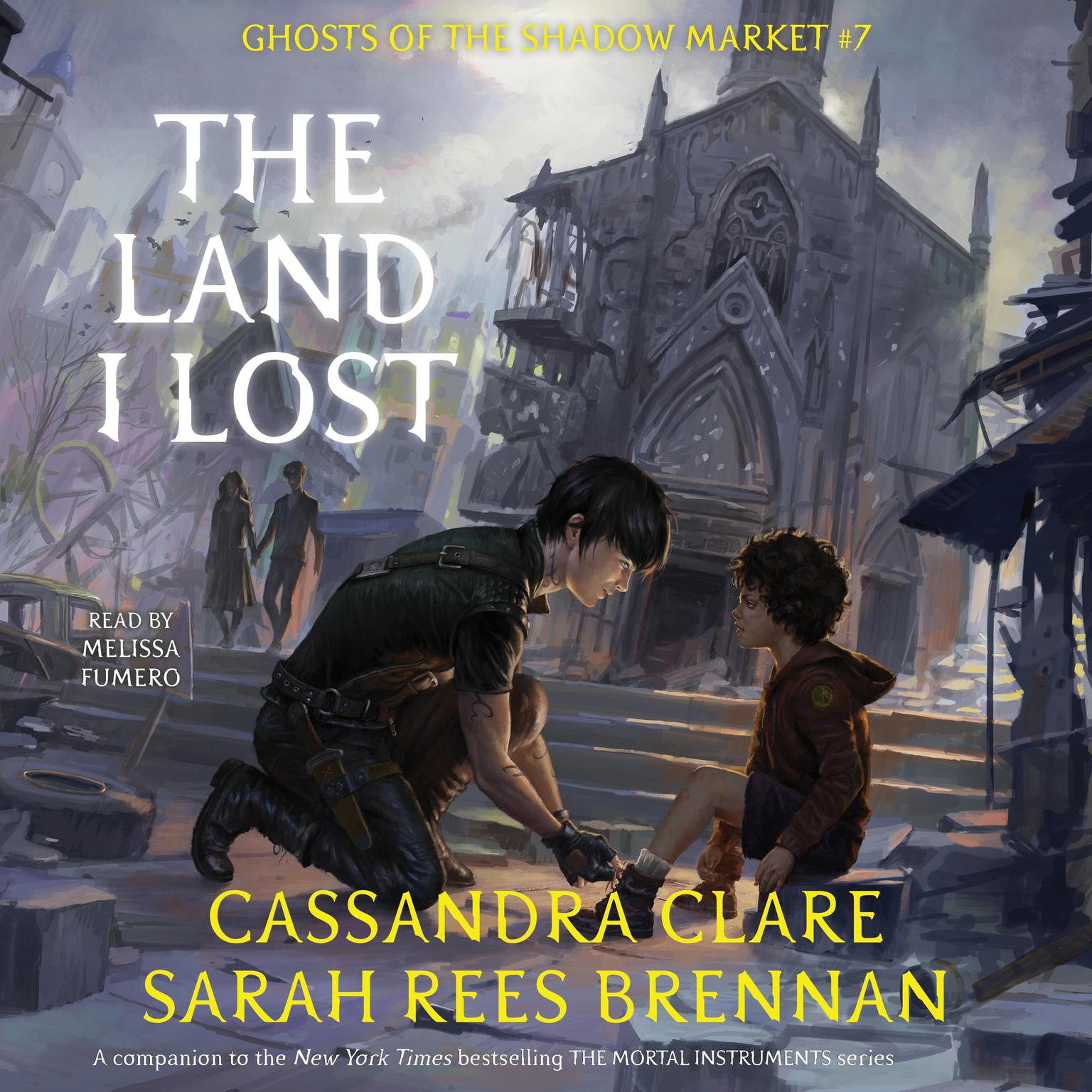 Printable The Land I Lost: Ghosts of the Shadow Market Audiobook Cover Art
