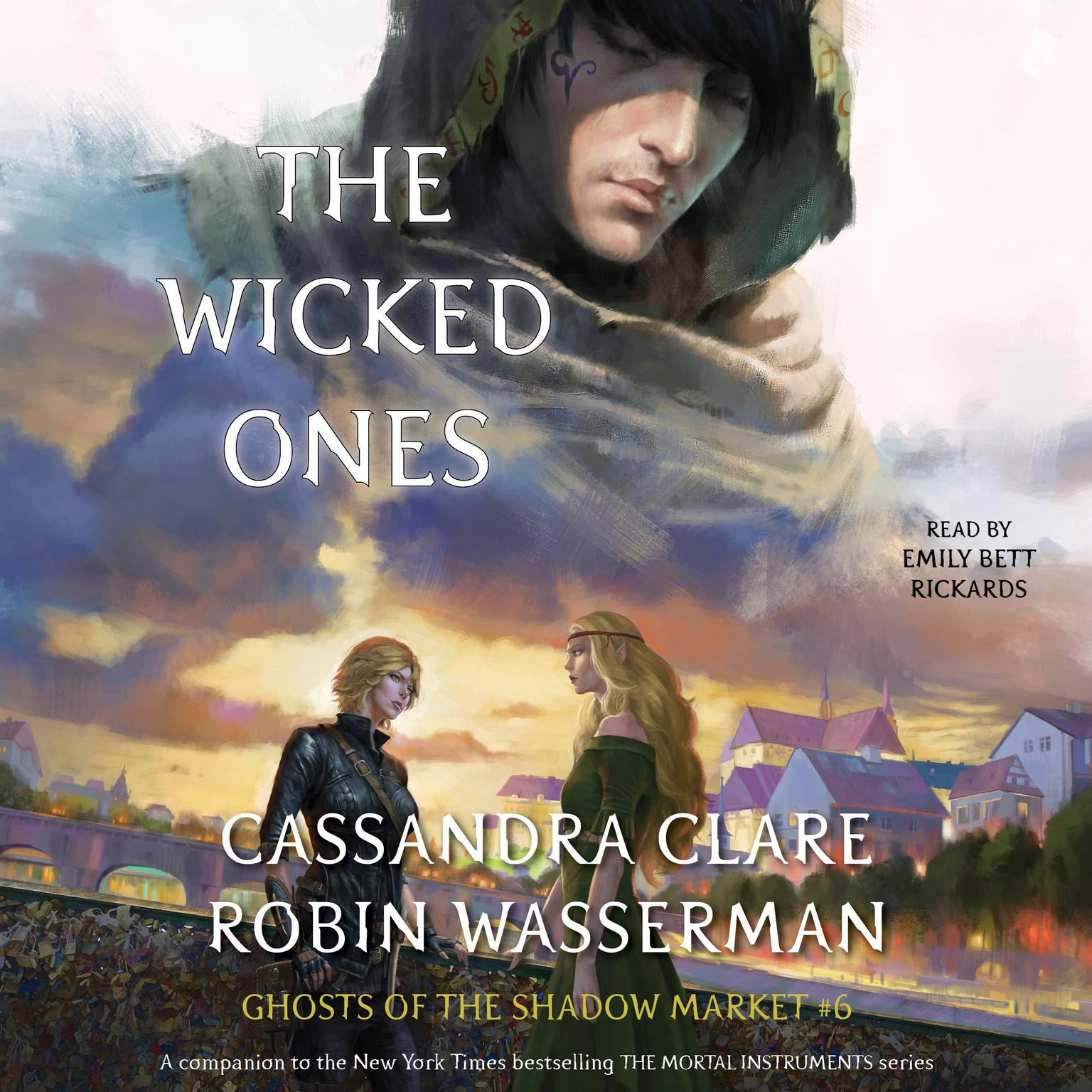 Printable The Wicked Ones: Ghosts of the Shadow Market Audiobook Cover Art