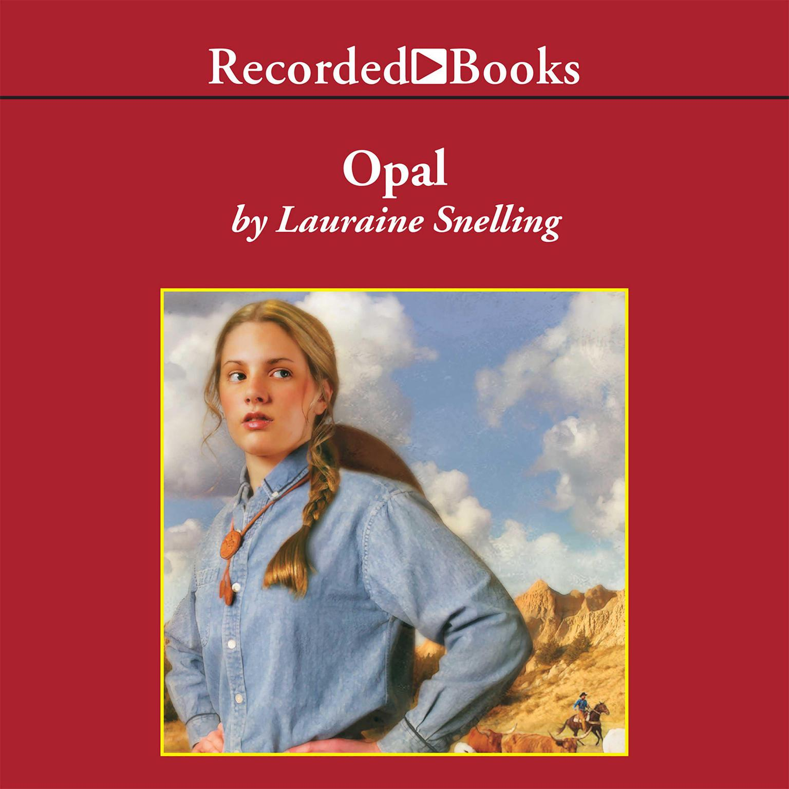 Printable Opal Audiobook Cover Art