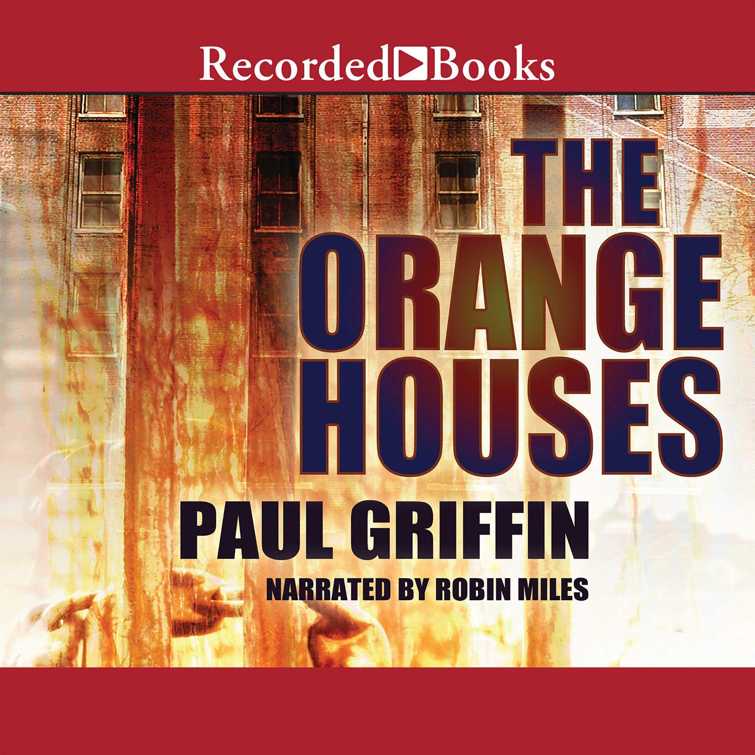 Printable The Orange Houses Audiobook Cover Art