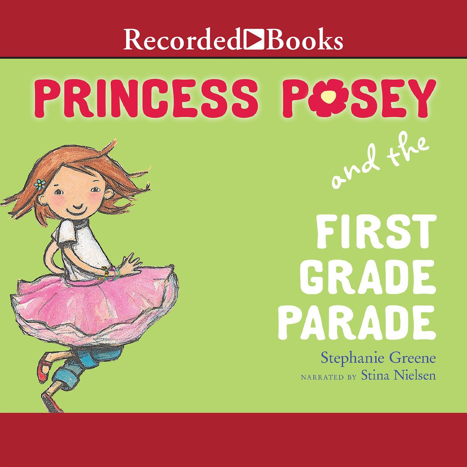 Printable Princess Posey and the First Grade Parade Audiobook Cover Art