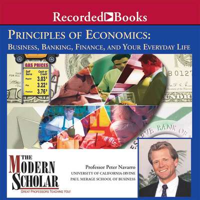 Principles of Economics: Business, Banking, Finance, and Your Everyday Life Audiobook, by Peter Navarro