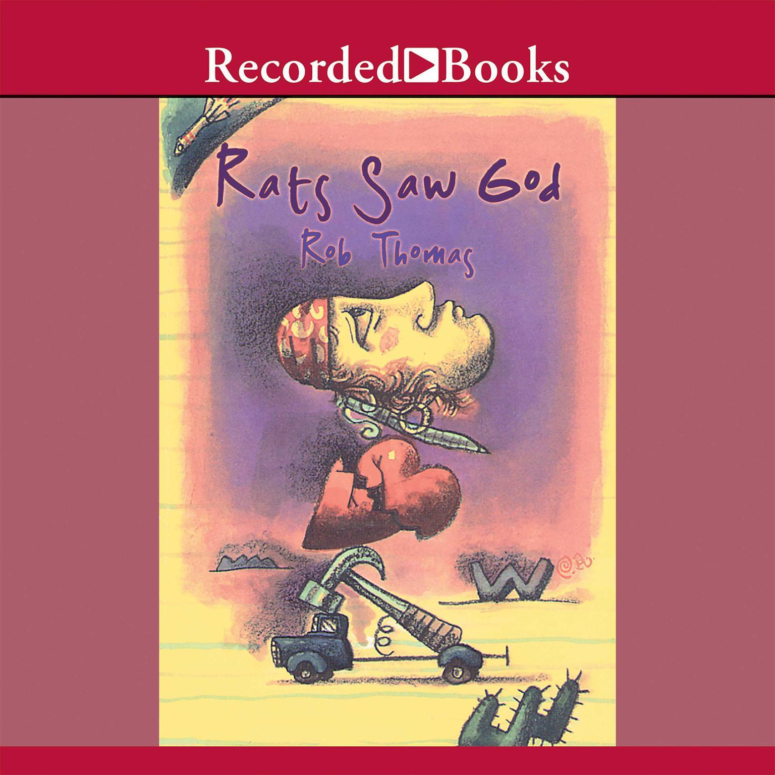 Printable Rats Saw God Audiobook Cover Art