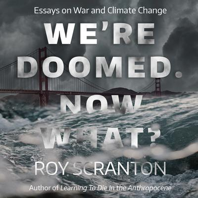 Were Doomed. Now What?: Essays on War and Climate Change Audiobook, by