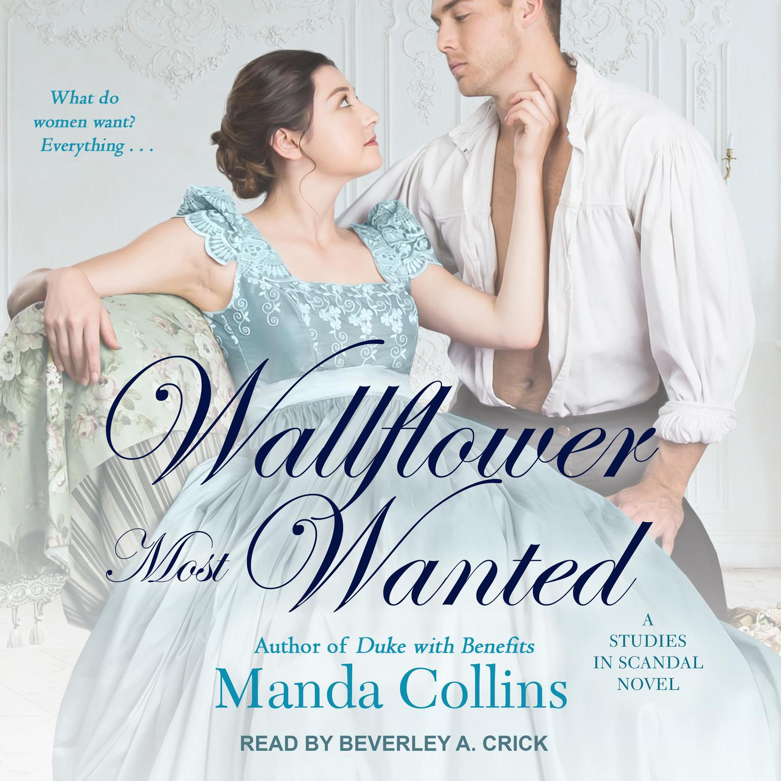 Printable Wallflower Most Wanted Audiobook Cover Art