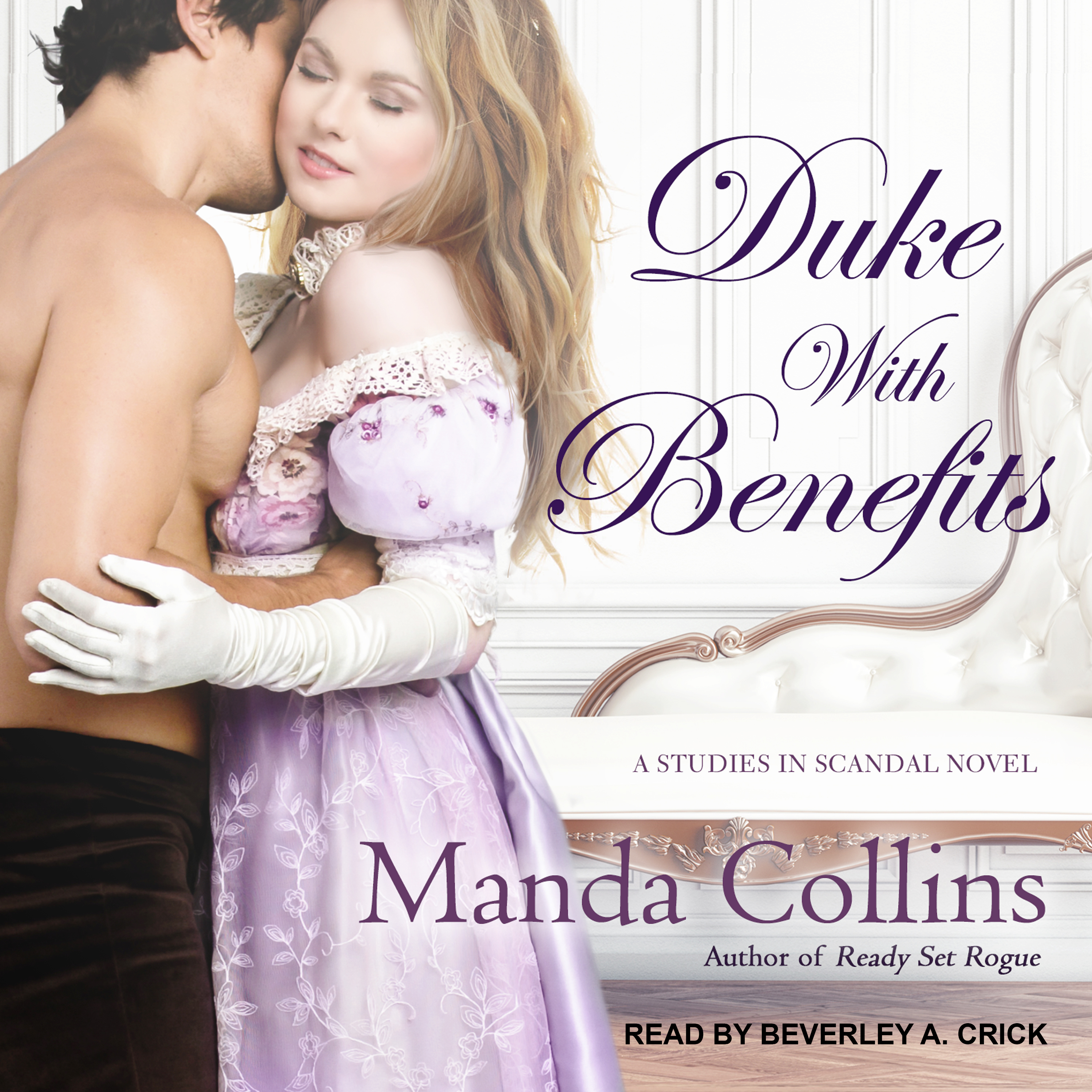 Printable Duke with Benefits Audiobook Cover Art
