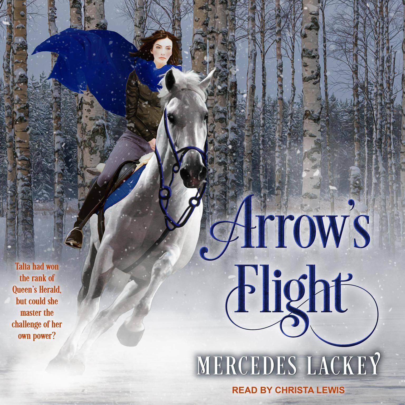 Printable Arrow's Flight Audiobook Cover Art