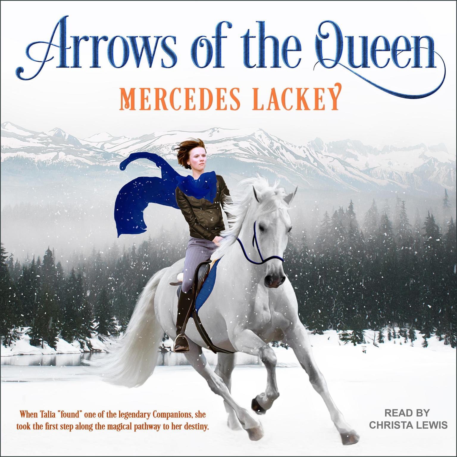Printable Arrows of the Queen Audiobook Cover Art