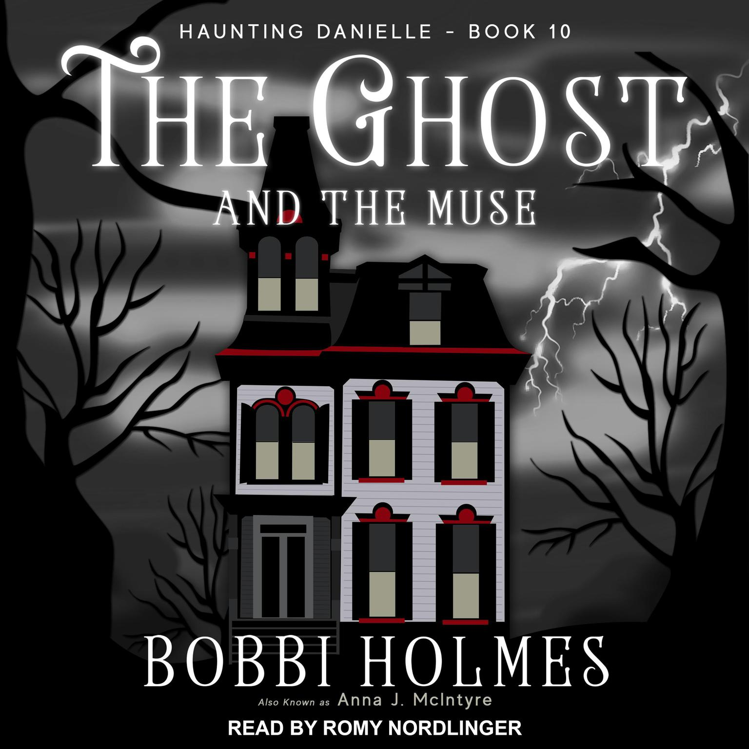 Printable The Ghost and the Muse Audiobook Cover Art