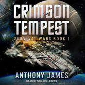 Crimson Tempest Audiobook, by Anthony James