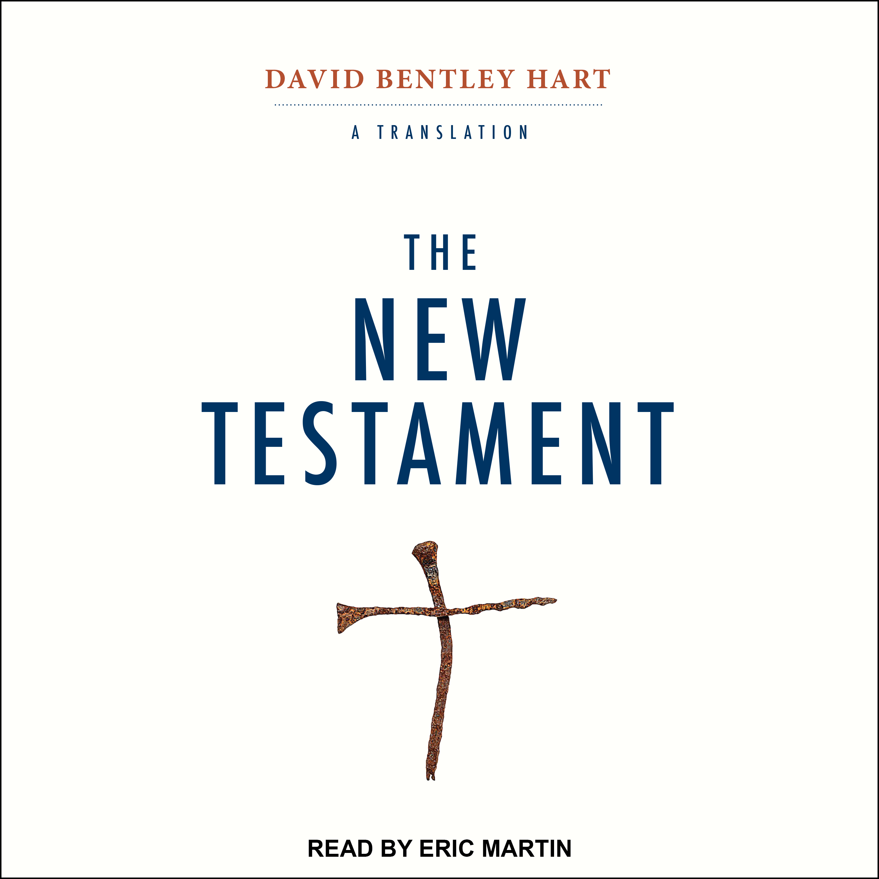 Printable The New Testament: A Translation Audiobook Cover Art