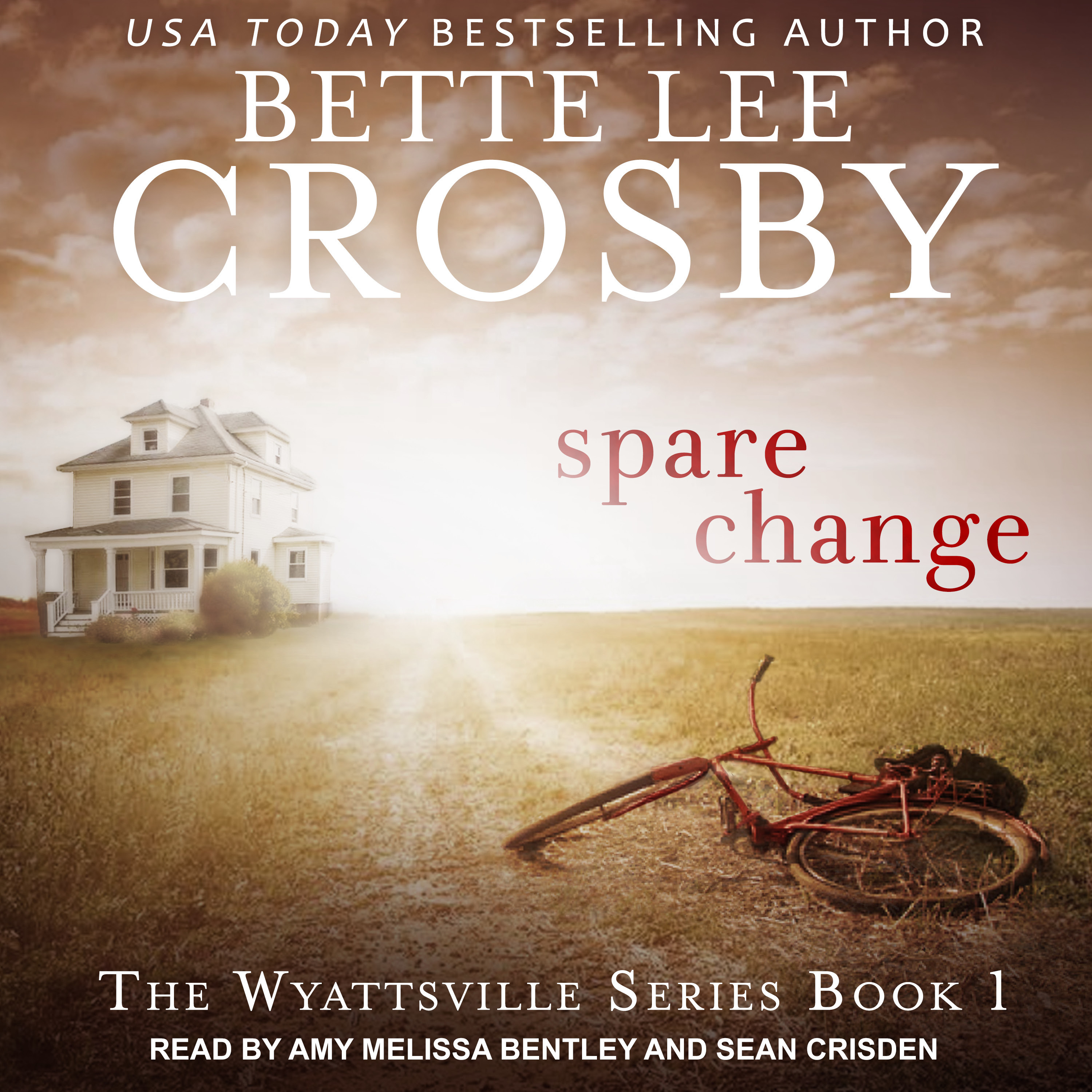 Printable Spare Change Audiobook Cover Art