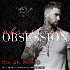 Obsession Audiobook, by Vivian Wood