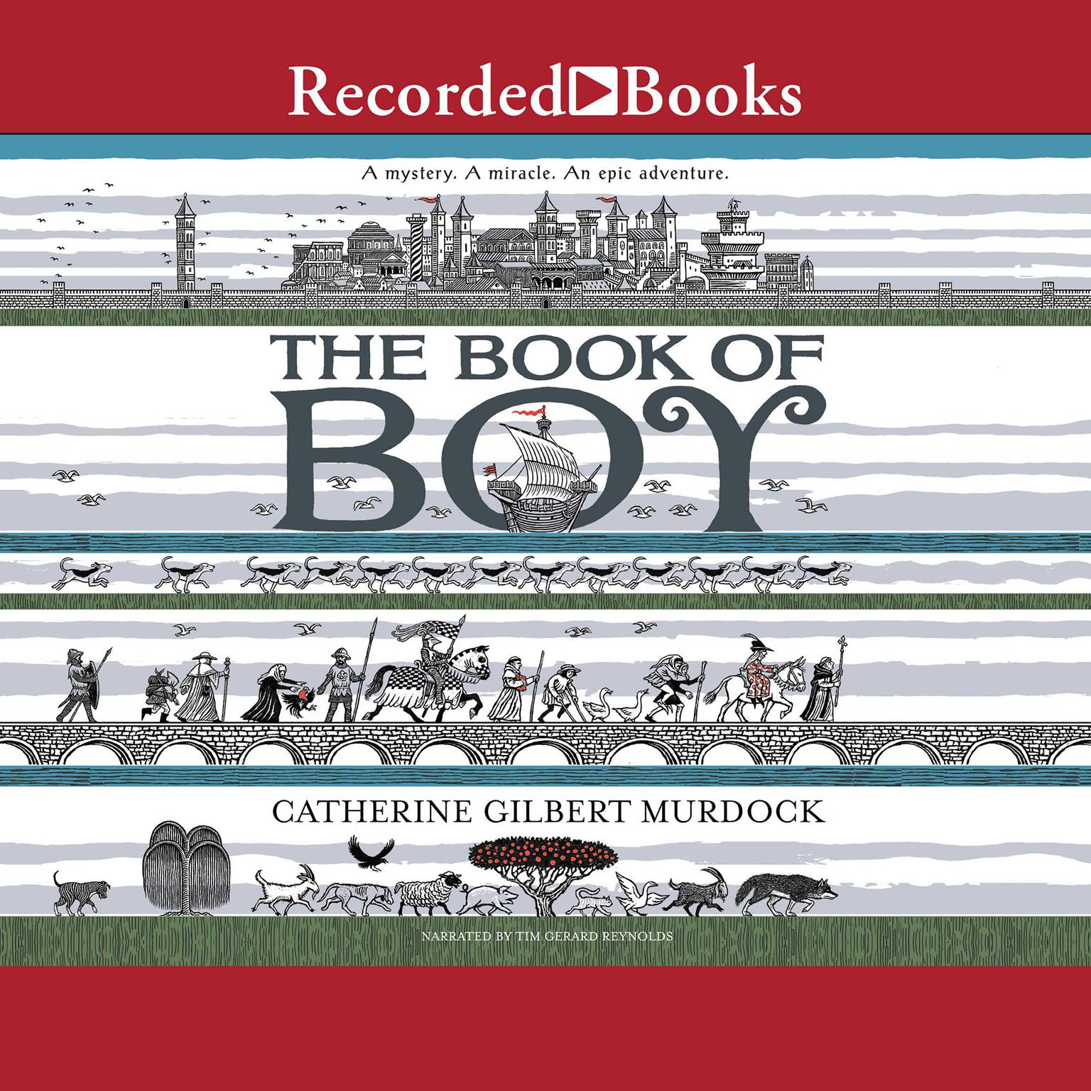 Printable The Book of Boy Audiobook Cover Art