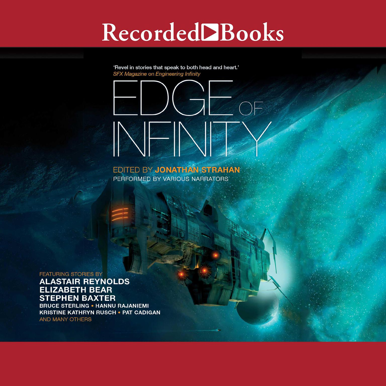 Printable Edge of Infinity Audiobook Cover Art