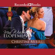 Miss Winthorpes Elopement Audiobook, by Christine Merrill