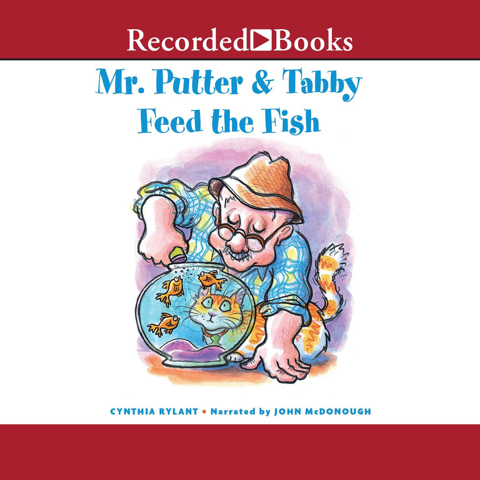 Printable Mr. Putter and Tabby Feed the Fish Audiobook Cover Art