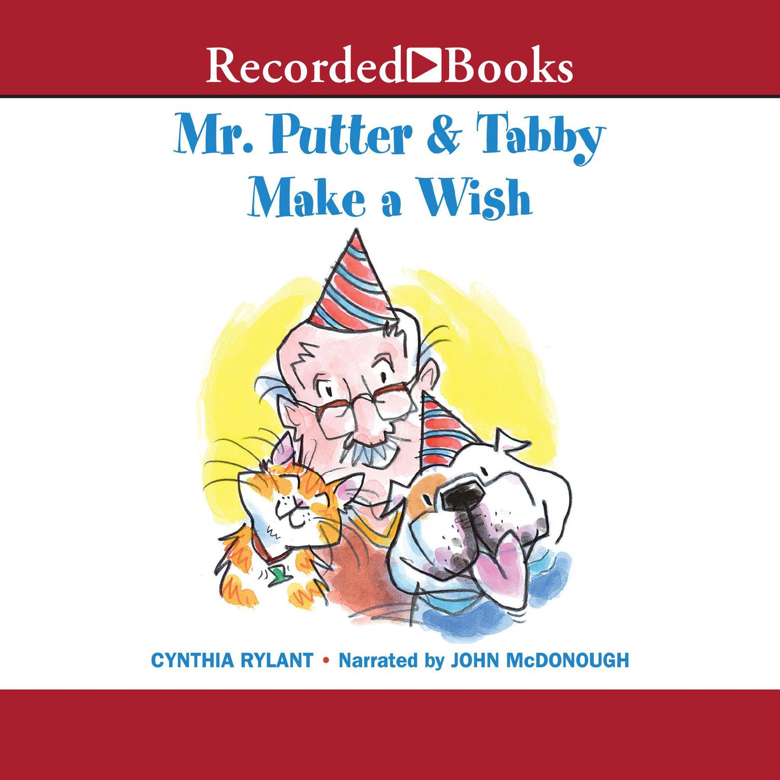 Printable Mr. Putter and Tabby Make a Wish Audiobook Cover Art
