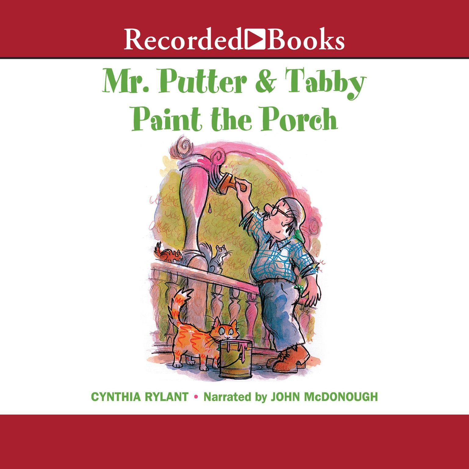 Printable Mr. Putter and Tabby Paint the Porch Audiobook Cover Art