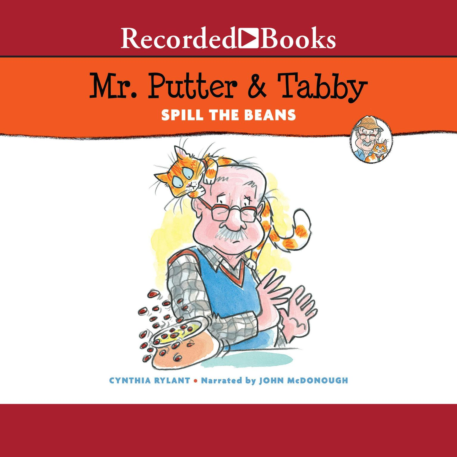 Printable Mr Putter and Tabby Spill the Beans Audiobook Cover Art