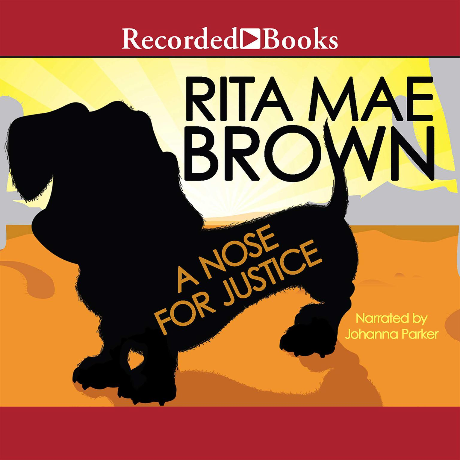 Printable A Nose for Justice Audiobook Cover Art