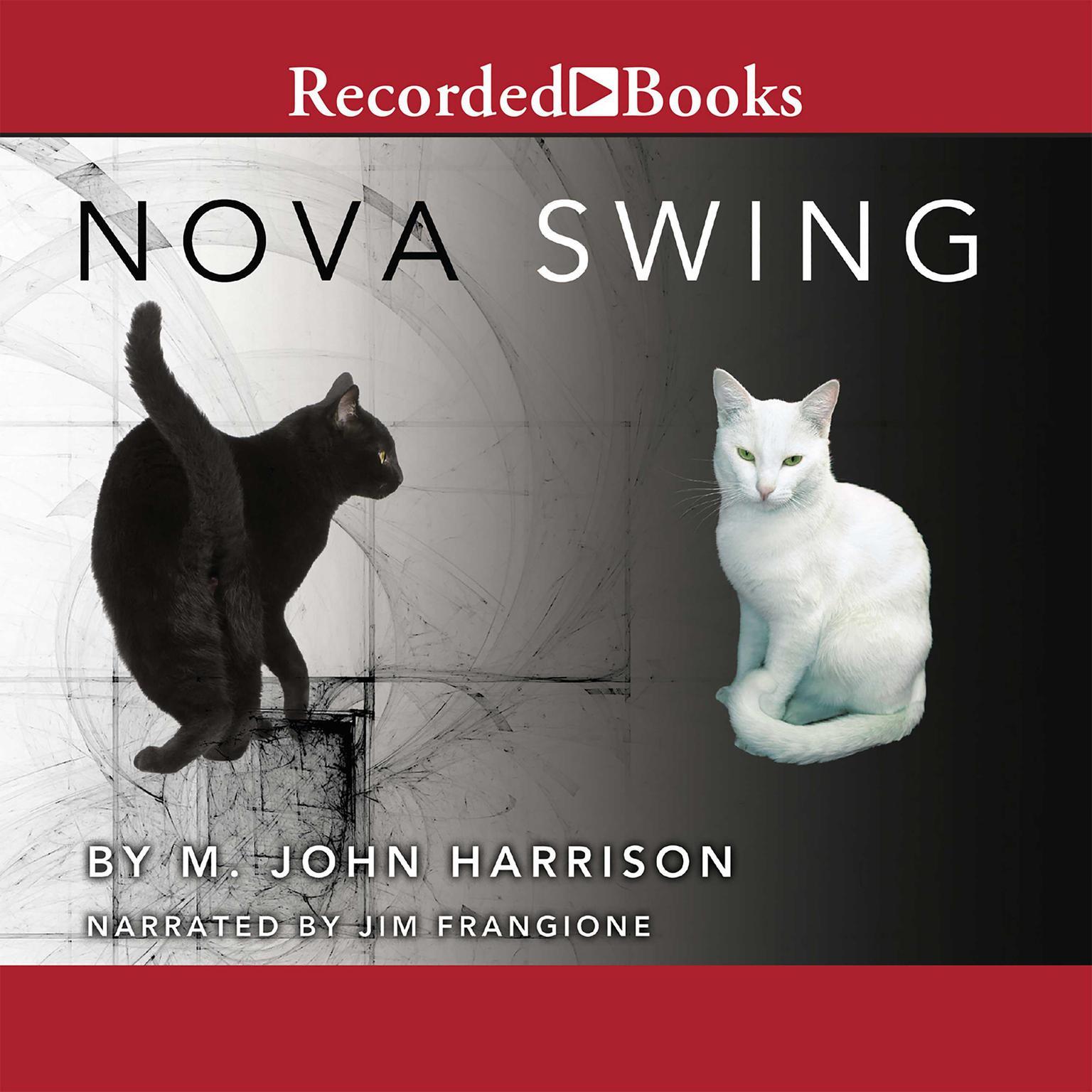 Printable Nova Swing Audiobook Cover Art