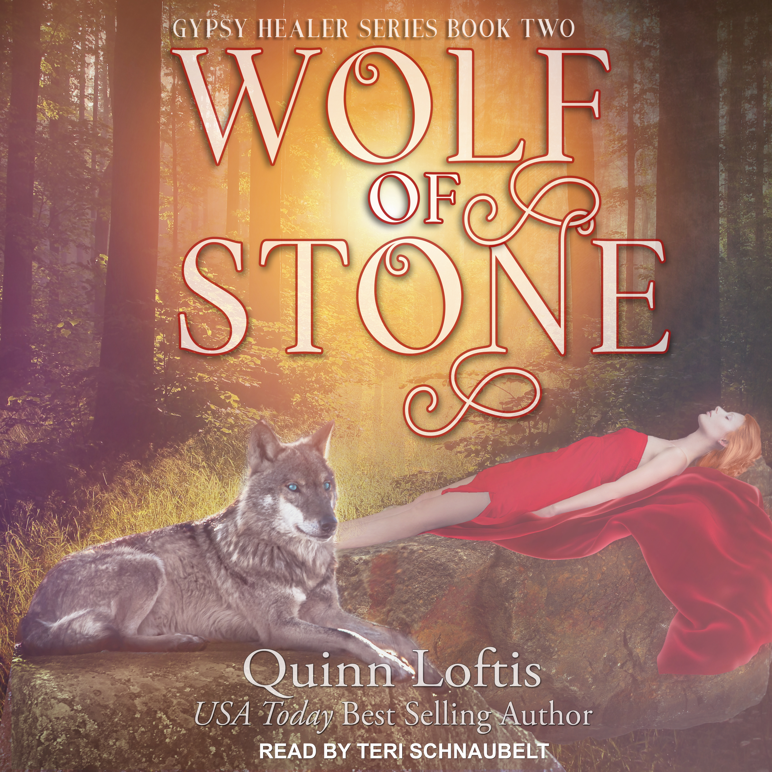 Printable Wolf of Stone Audiobook Cover Art