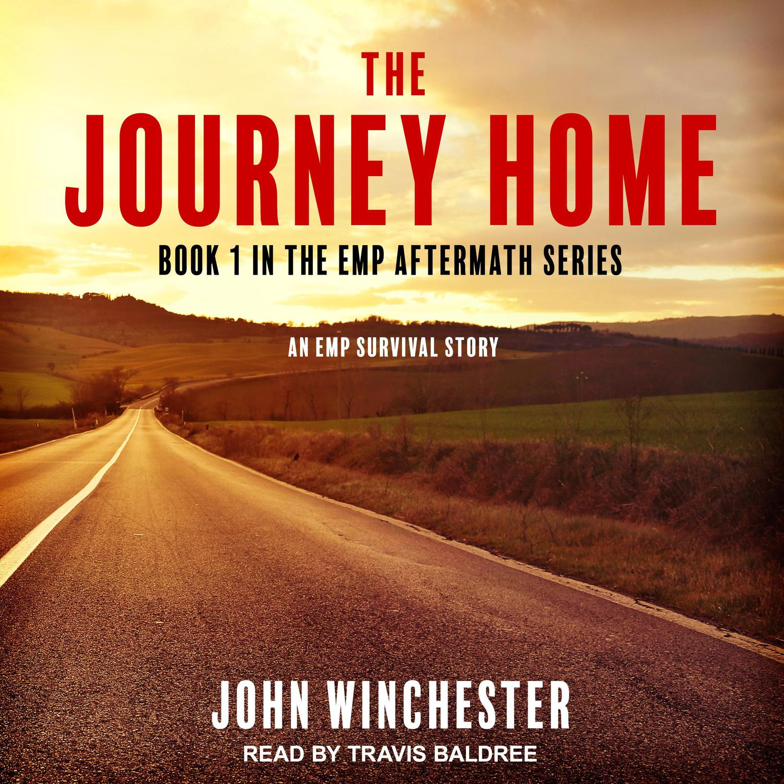 Printable The Journey Home: An EMP Survival Story Audiobook Cover Art