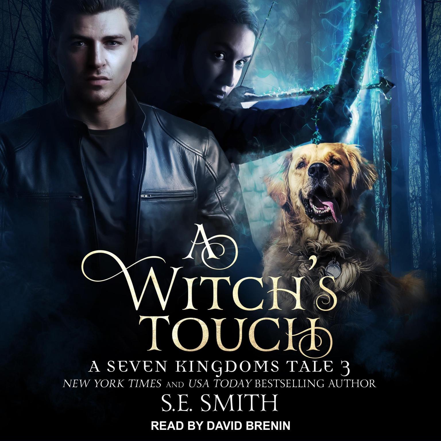 Printable A Witch's Touch: A Seven Kingdoms Tale 3 Audiobook Cover Art